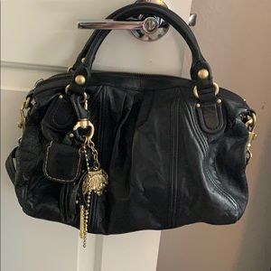 Barely Used Juicy Couture Leather Handbag